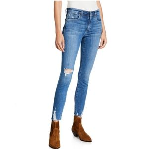 Joe's Jeans Distressed Ankle Jeans
